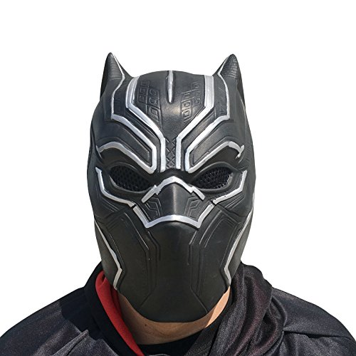 Black Panthers Party Kostüm - Black Panther Maske - perfekt für
