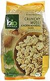 biozentrale Crunchy Müsli Ahorn-Mandel, 2er Pack (2x375g)