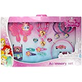 Disney Princess 25 Piece Kids Hair & Jewellery Accessory Gift Set