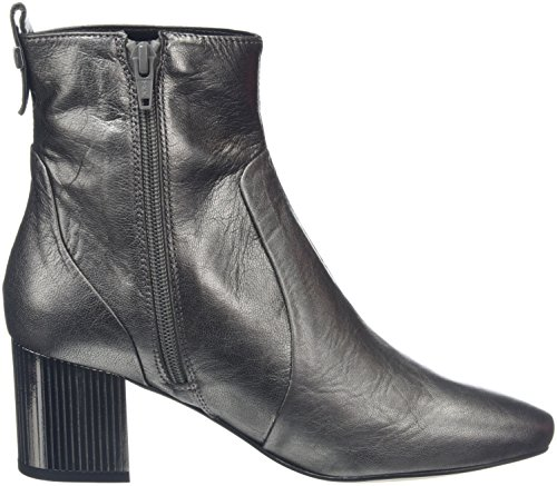 Carvela Ladies Swirl Np Short Boots Argento (canna Di Fucile)