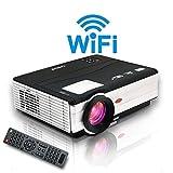 EUG X89+Wifi Wireless LCD LED Video-Projektor 3.000 Lumen Heimkino Beamer Cinema Intelligenter Projektor Player HDMI VGA USB TV