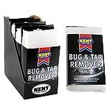 4 x Kent Car Care Bug & Tar Remover Mesh Sponge Pads