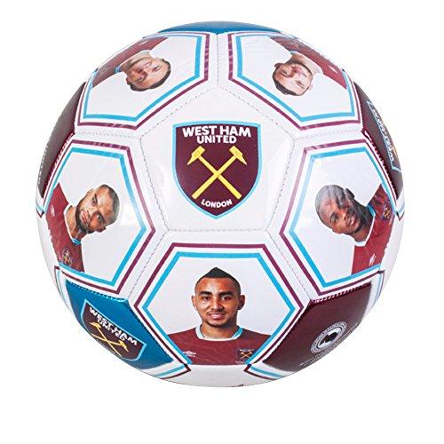 West Ham United Players Photo Signature Football