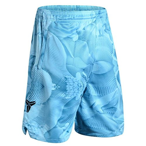 Men's Breathable James Polyester Beach Shorts blue