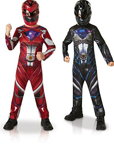 ngers für Jungen (Kostüm Power Rangers)