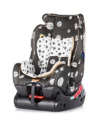 Preisvergleich Produktbild Chipolino Autositz, Gruppe 0plus/1/2, Trax, Dots creme