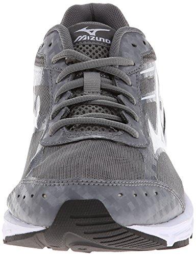 Mizuno Wave Unite 2 Synthétique Chaussure de Course Gray-White