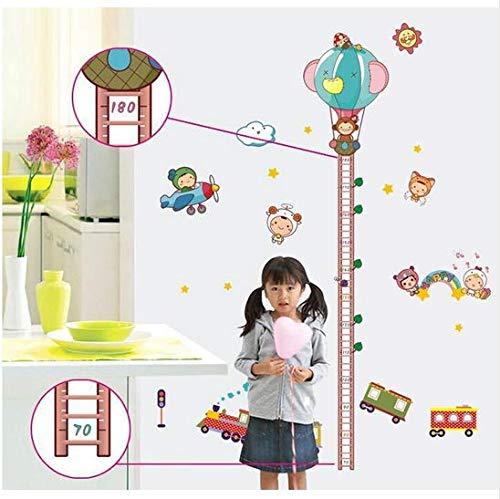 Newberli Höhe Diy Entfernbare Wandaufkleber Kind Echte Cartoon Dekoration Aufkleber Kleine Zug Höhe Wandaufkleber Ay890 Kinder Favorit