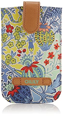 Oilily Oilily Smartphone Pull Case, Organisateur de sac femme - Bleu - Blau (Denim 533), 9x14x1 cm (B x H x T) EU