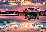 Sachsens Schlösser (Wandkalender 2019 DIN A2 quer): Schlösser und Burgen in Sachsen (Monatskalender, 14 Seiten ) (CALVENDO Orte)
