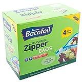 Bacofoil 2x 216pezzi, senza BPA, riutilizzabile impermeabile di alta qualità resistenti 1L multiuso piccolo cerniera borse