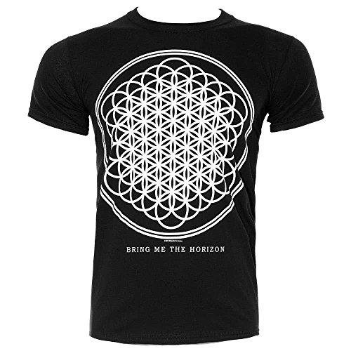 Bring Me The Horizon T Shirt Sempiternal Band Logo Oficial de los hombres nuevo