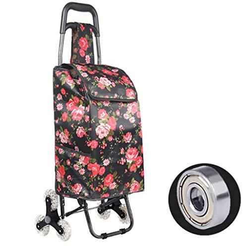 554c77b8dc9a SXRNN Lightweight 6 Ruedas Carrito de Compra Climbing Shopping Cart  Waterproof Bag