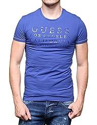 Guess - T Shirt U64m18 - Jel13 B674 Boston Blue