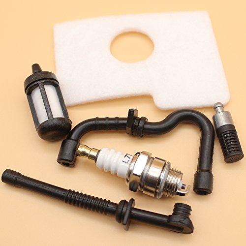 Filtro aria olio combustibile linea filtro & candela per Stihl 017018MS170MS180motosega ms 170180Aftermarke Parts