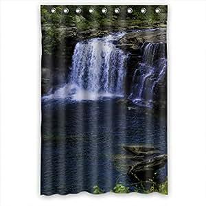 Distanza cascata per tenda da doccia in tessuto 48 (W) x72 (H): Amazon.it: Casa e cucina