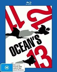 Ocean's Trilogy (Ocean's Eleven / Ocean's Twelve / Ocean's Thirteen) Blu-Ray