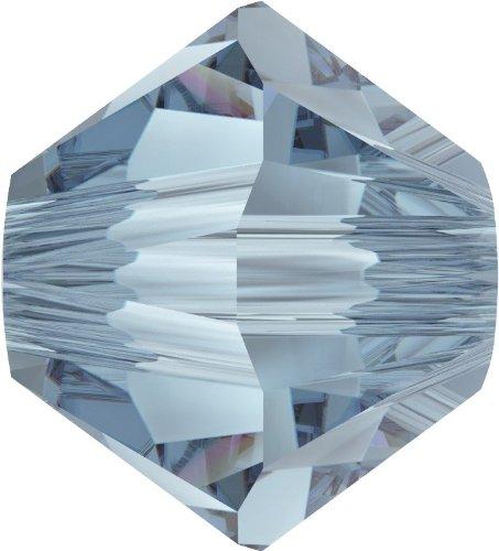 Original Swarovski Elements Beads 5328 MM 4,0 - Olivine (228) ; Diameter in mm: 4.0 ; Packing Unit: 1440 pcs. Denim Blue (266)