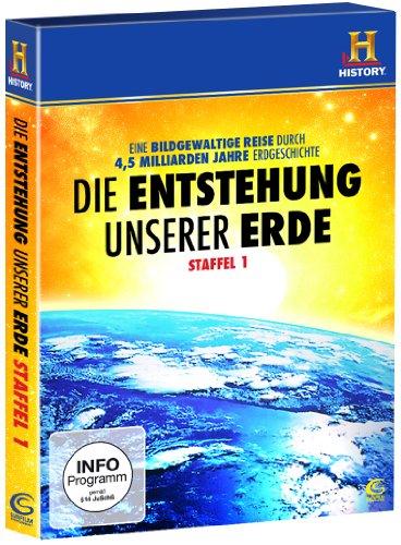 Die Entstehung unserer Erde - Staffel 1 (History) (4 DVD Box)