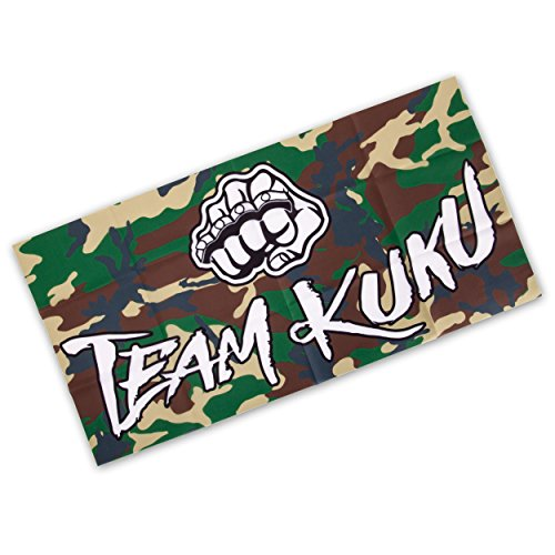 Team KUKU Fahne 100x50cm Logo camo -