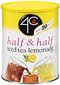 4C half & half iced tea- lemonade, 53-Ounce (Pack of 3)