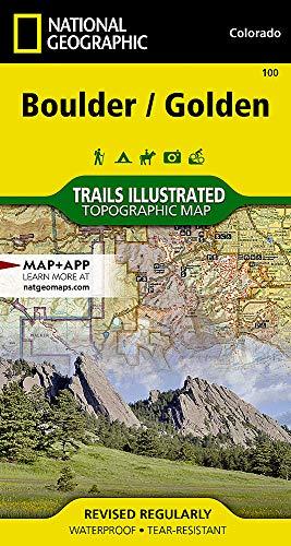 Boulder / Golden: NATIONAL GEOGRAPHIC Trails Illustrated Colorado (National Geographic Trails Illustrated Map, Band 100)