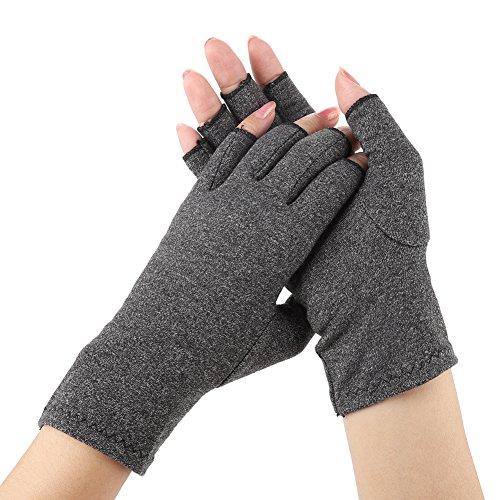 Rosvola Kompressionstherapie-Handschuhe, Arthritis Pain Relief Rehabilitation Training Gloves(M) (Medium Gamer-handschuhe)