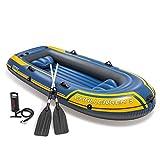 Intex Boot Challenger 3 Set, mehrfarbig, 295 x 137 x 43 cm/4-teilig