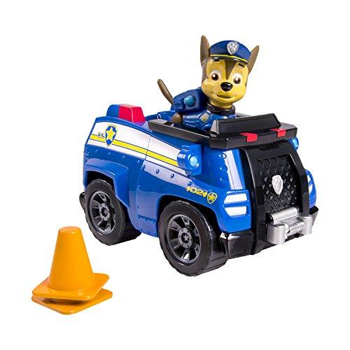 Patrulla Canina - Vehículo básico con figura Chase y su vehículo (Bizak 61926601)