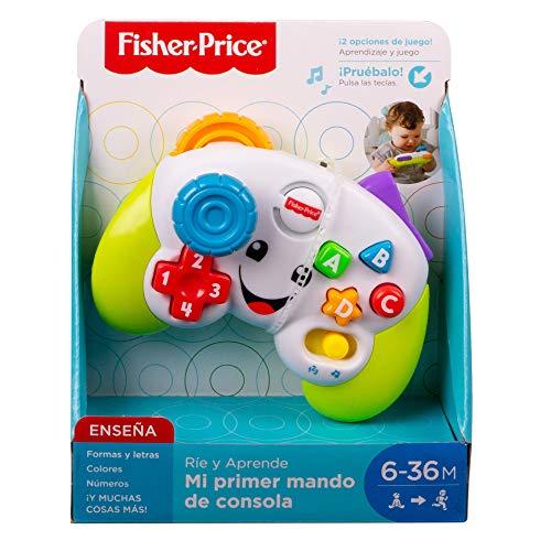 Fisher-Price Mi primer mando de consola, juguete de...