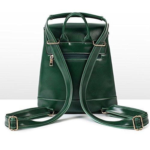 (3 Pezzi )BYD Donna zaino Women di modo del sacchetto di PU cuoio della borsa alta capacità Handbag Shoulder Bag Tote Bag Purse Bag Nero