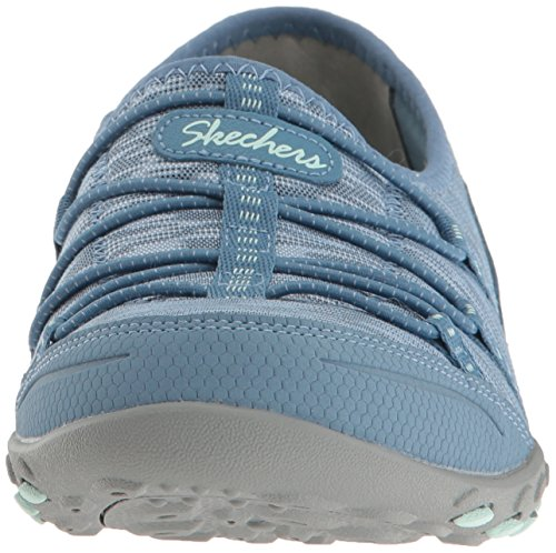 Skechers Breathe-Easy-Golden, Scarpe da Ginnastica Basse Donna Blu (blu)