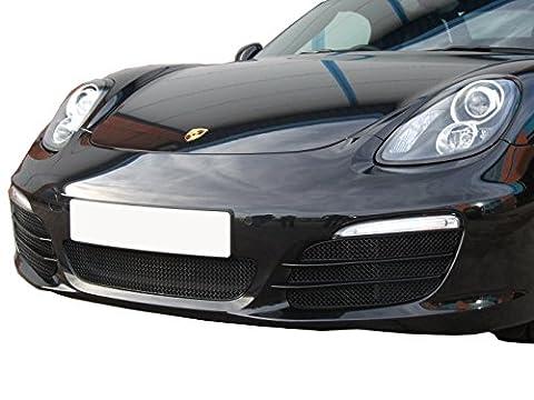 Porsche Boxster 981 - Ensemble calandre intégral (sans capteurs de stationnement) - Finition noir (2012 to 2016)