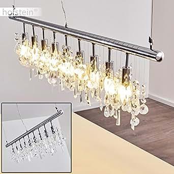 Suspension 9 ampoules avec pampilles en verre
