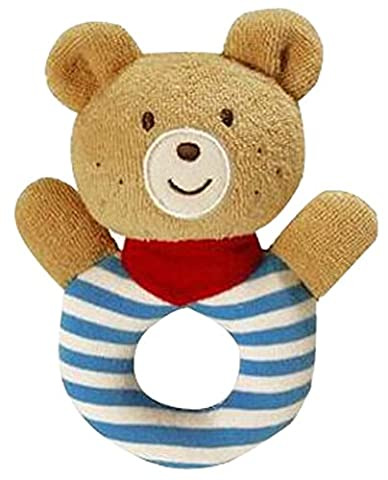 Baby Lernspielzeug Handtier Rattle Gelber Bär