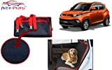 Auto Pearl Car Pet Seat Cover for Mahindra KUV 100 (Dark Blue and Red)