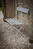 Garden Trading Folding Bistro Bench - Natural