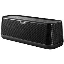 Anker SoundCore Pro Enceinte Bluetooth 25W avec son 360°, basses puissantes et son haute définition - Enceinte portable Bluetooth 4.2 avec 4 drivers, autonomie de 18 heures, technologie NFC et chargement USB pour smartphones et tablettes