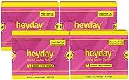 Heyday Organic & Natural Maxi Fluff Sanitary Napkins (56 Pie