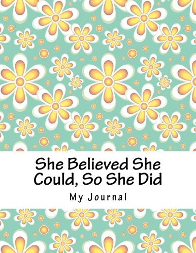 she-believed-she-could-so-she-did-inspirational-quote-seamless-yellow-floral-design-notebook-journal