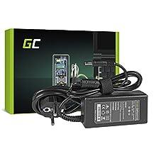 Green Cell® Netzteil für Medion Akoya E1218 S2217 S2218 Akoya Mini E1211 E1215 E1217 E1221 ASUS U20 U20A Eee Box B201 B202 B203 B204 B206 EB1006 Laptop Ladegerät inkl. Stromkabel (19V 2.1A 40W)