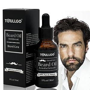 bartöl, Barbe d'entretien pour les hommes, Beard Oil, Barbe & Parfum frais, Haute Qualité Barbe huile naturelle pour un & soigné Barbe, naturellement doux comme cadeau pour les hommes, 30ml
