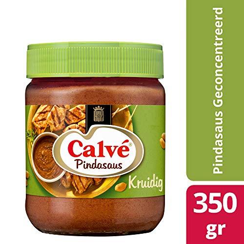 Calve Erdnußsoße Scharf gewürzt 350g