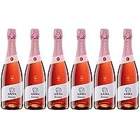 Codorníu   Anna de Codorníu Rosé  Cava Brut Rosado   Medalla de Oro Tasting.com - 2016   Caja de 6 botellas de 75 cl