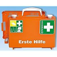Erste-Hilfe-Koffer Quick-CD orange mit Füllung Standard DIN 13157 preisvergleich bei billige-tabletten.eu
