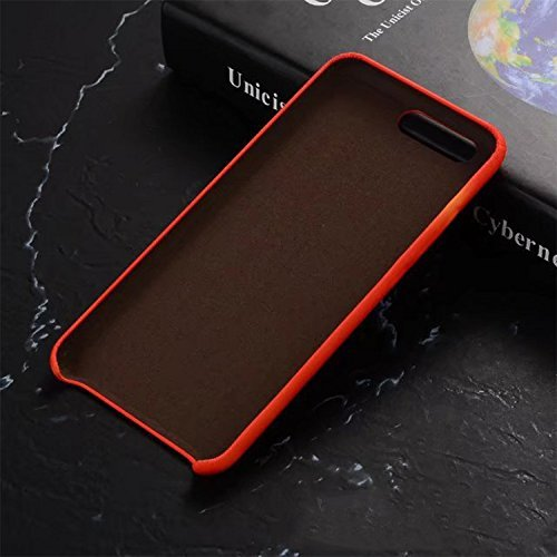 iPhone 6 plus/6S plus Hülle,Thermal Induction Discoloration Hülle,VENTER® Hard PC Exclusive Magical Design Heat Sensitive Cover Matte Protection Snap On Protective Hülle für Samsung iPhone 6 plus/6S p Red