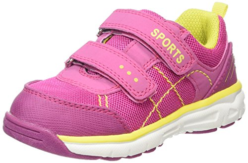 Supremo Kinderschuhe, Baskets Basses fille Rose - Pink (pink-neon yellow)