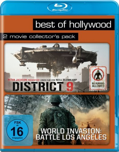 District 9/ World Invasion: Battle Los Angeles - Best of Hollywood/2 Movie Collector's Pack [Blu-ray]