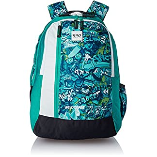 23335d6e8201 Wildcraft Polyester 43 Ltrs Turquoise School Backpack (Wiki 5 Punk 3)