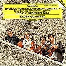Dvorak / Kodaly: Streichquartett Nr. 12 (Amerikanisches Quartett) + Nr. 2 Op. 10